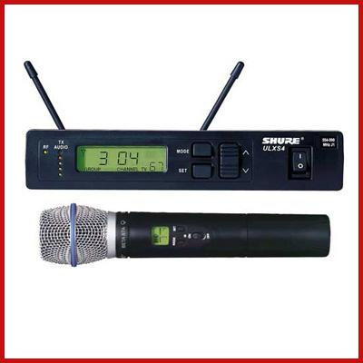 Microphones - Wireless