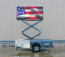 large led screen rental